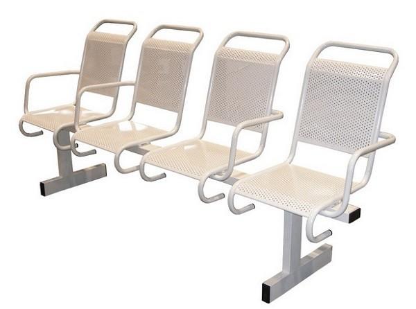 Металлические секции стульев