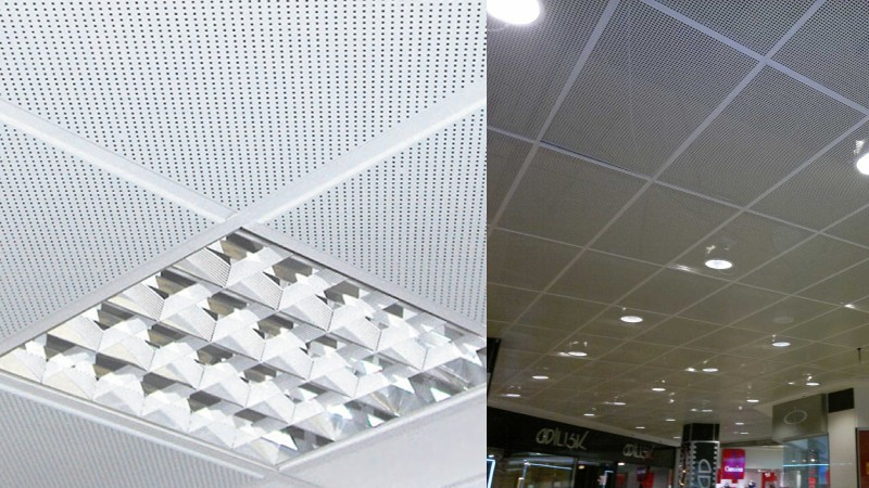 Перфорированные листы для кассетных потолков