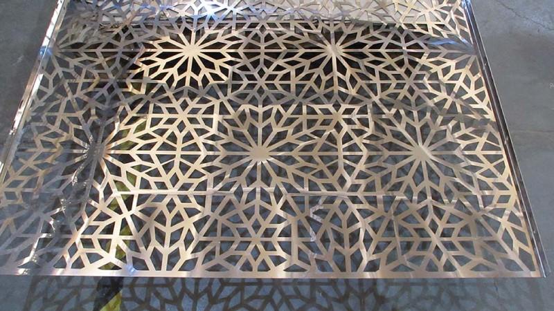 Декоративная перфорация листового металла