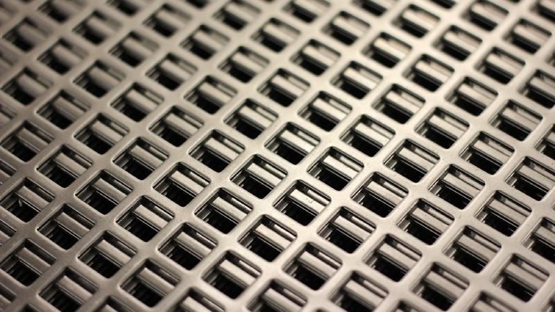 Перфорированные панели из листового металла