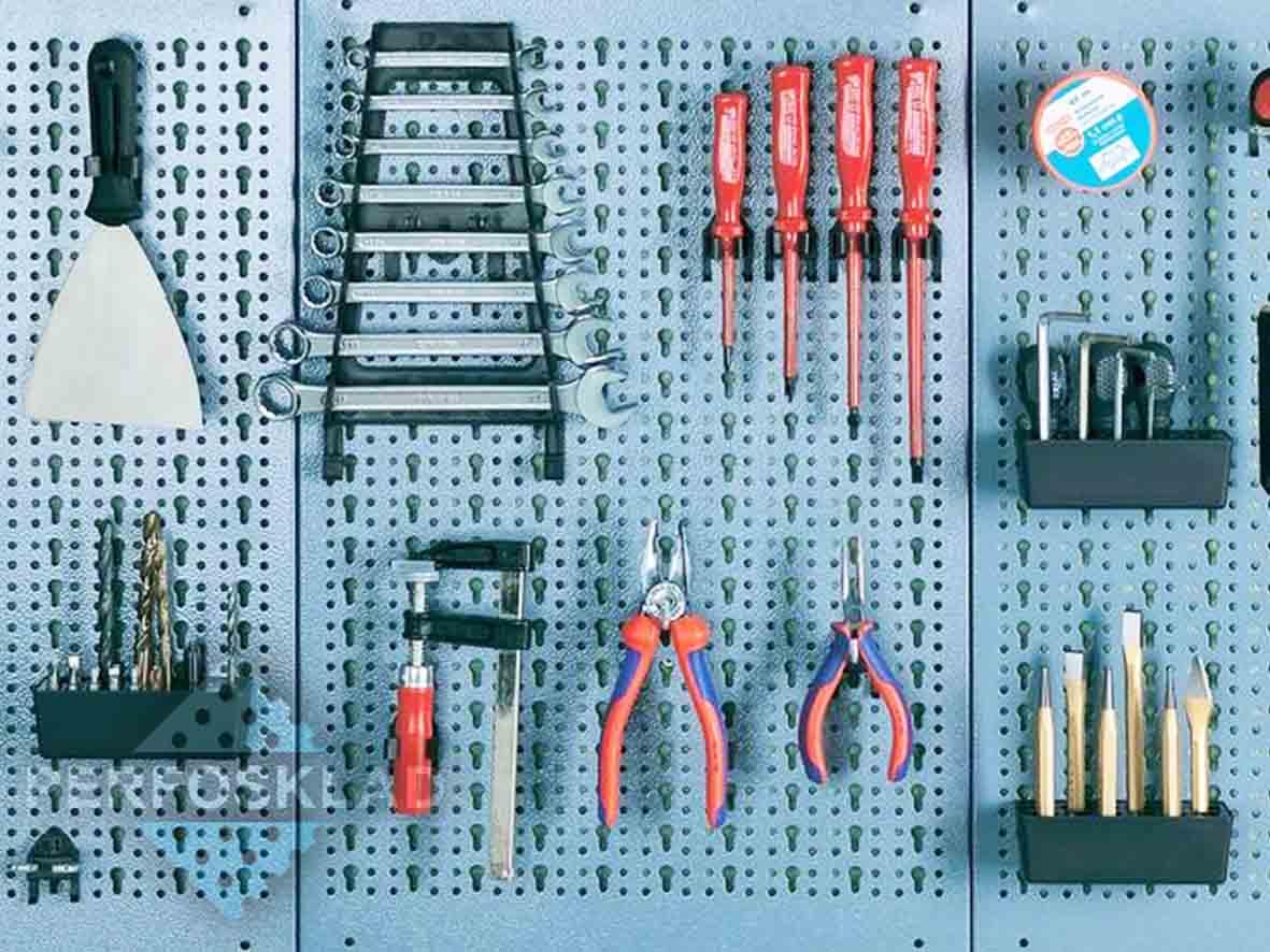 Перфорированные панели для инструментов